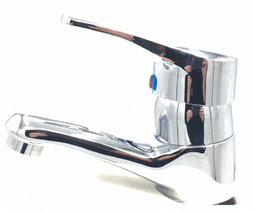 Roca Victoria Plus 44 P Basin MIxer In Chrome With Pop Up Waste. Model 5272327B0